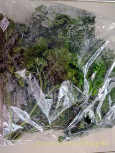 チェンマイで購入したパセリ