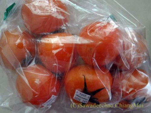 チェンマイで購入したトマト