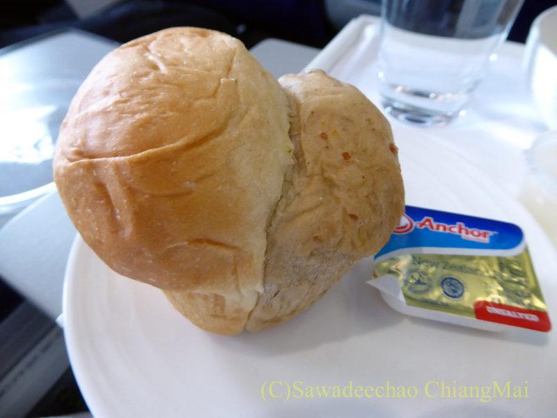 マレーシア航空MH789便ビジネスクラスで出たパン
