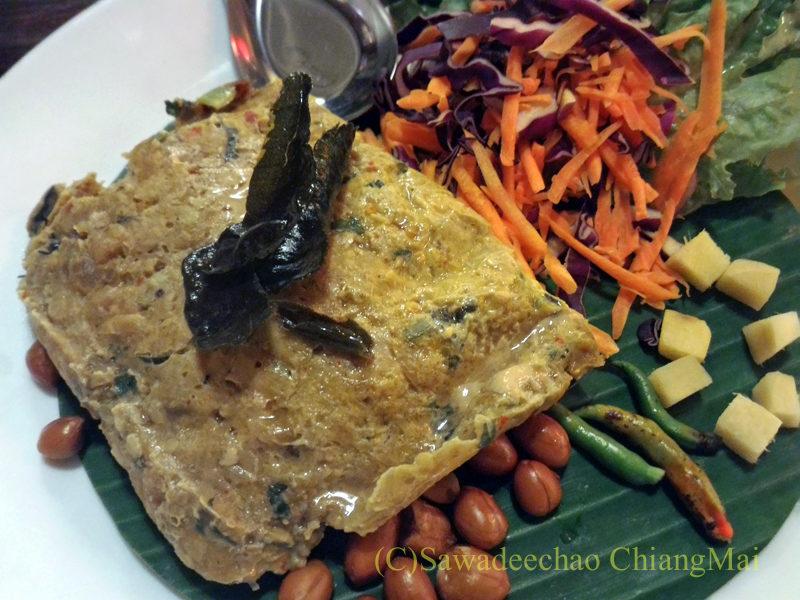 チェンマイのレストラン「ラムディーティークワデーン」のエーププラー