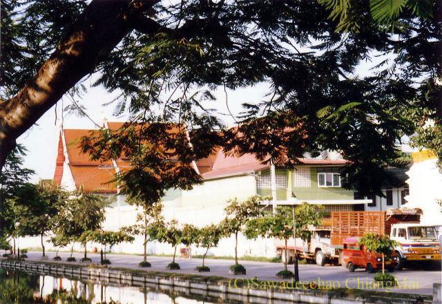 チェンマイのチャイヤプーム通りの1989年の様子