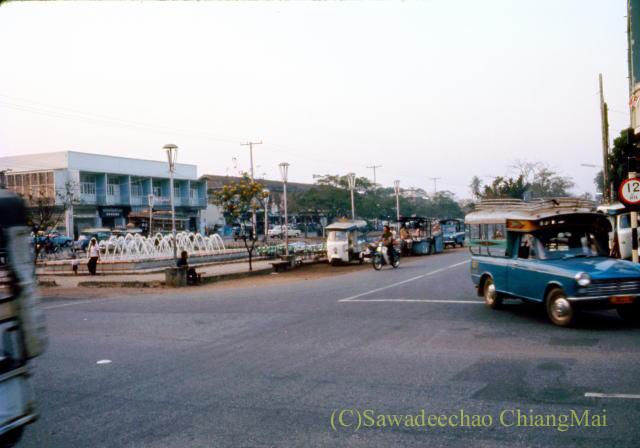1973年のチェンマイ市内中心部