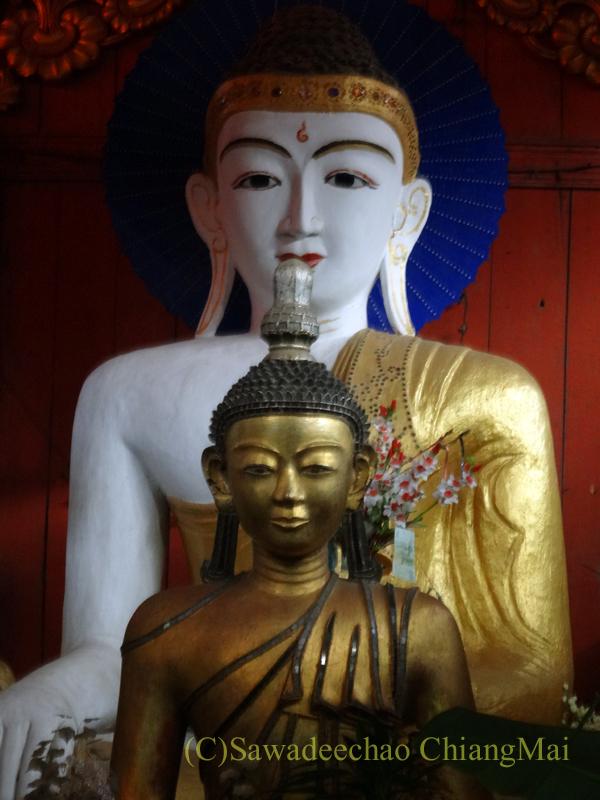 チェンマイのタイヤイ(シャン族)寺院、ワットパーパオの本尊