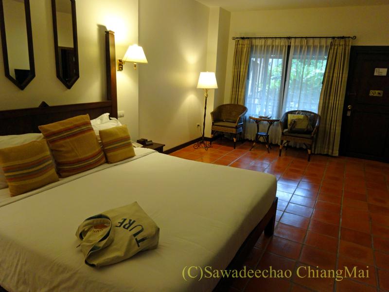 チェンマイのリムピンビレッジホテルの客室概観