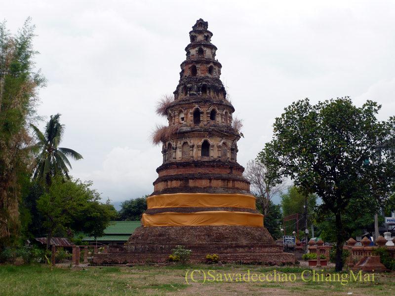 チェンマイにある廃寺、 ワットチェディプローン概観