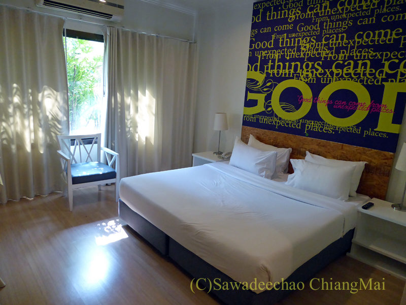 タイ北部、ピサヌロークにあるザ・パークホテルの客室概観