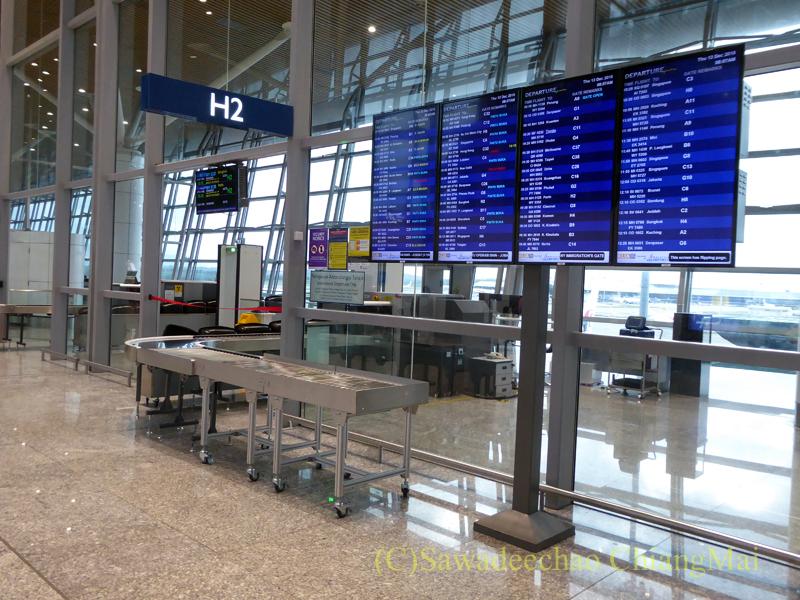 クアラルンプール国際空港の搭乗ゲート