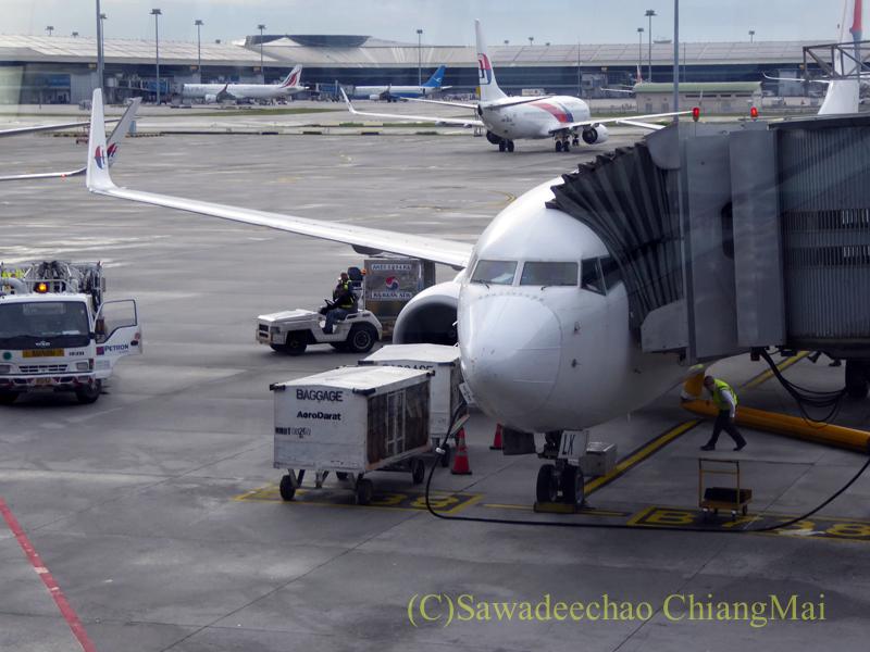 マレーシア航空MH784便の機体