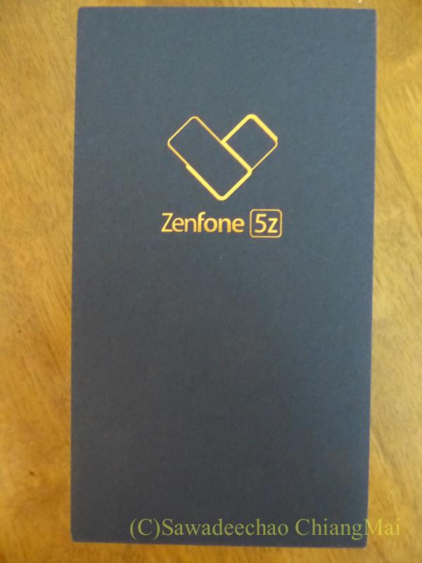 チェンマイで買ったスマホASUS Zenfone5zの外箱