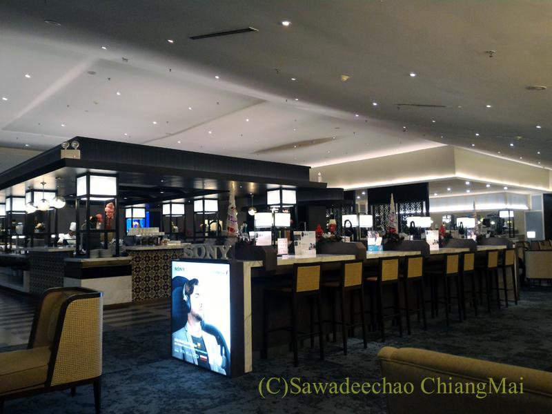 クアラルンプール空港マレーシア航空ゴールデンラウンジ