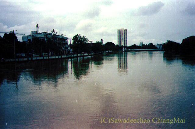 1994年の大洪水の時のチェンマイ