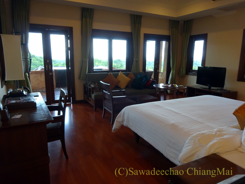 チェンラーイにあるカティリヤ・マウンテン・リゾートの客室概観