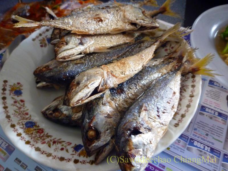 チェンマイの友人宅で食べたノムセン・ミエン・プラートゥーのグルクマ
