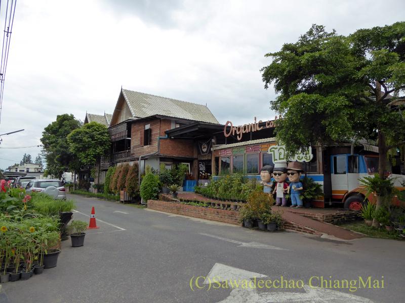 チェンマイのオーガニック農園レストラン、オーカチューの概観