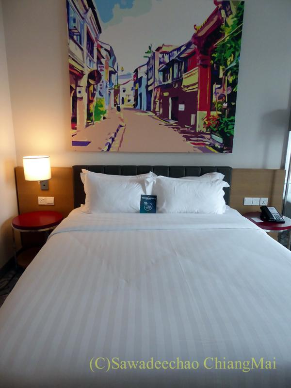 クアランプールのホテル、メルキュールクアラルンプールショーパレードのベッド