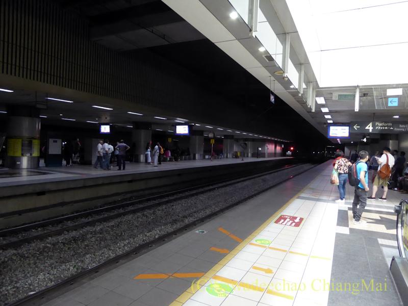 マレーシアのクアラルンプールセントラル駅のホーム
