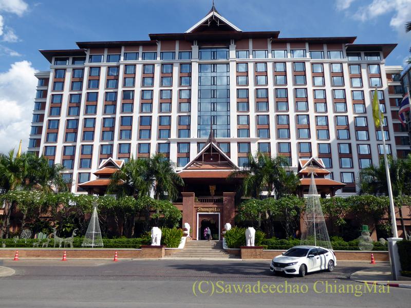 チェンマイの大型高級ホテル
