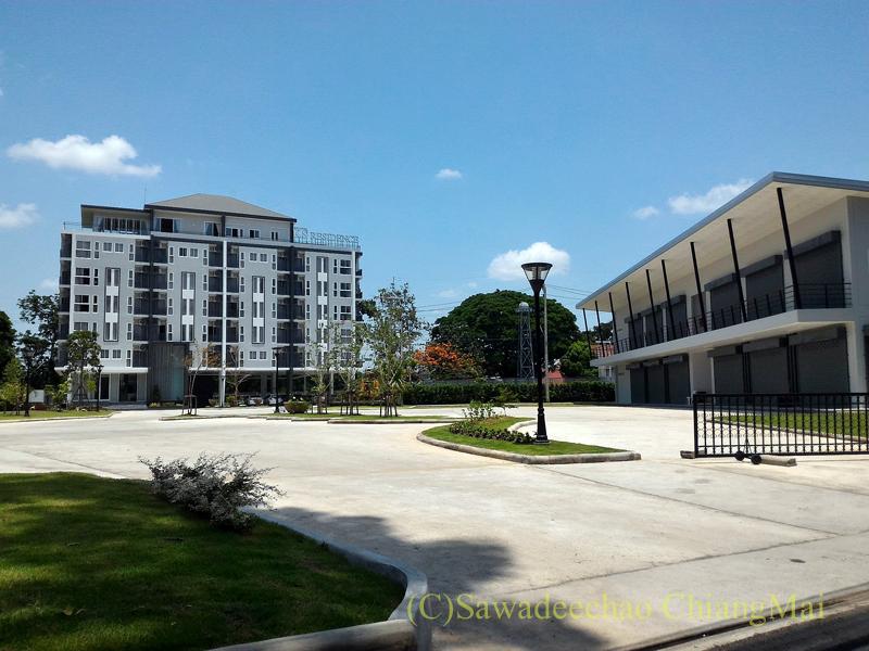 チェンマイ市内中心部の新築コンドミニアム