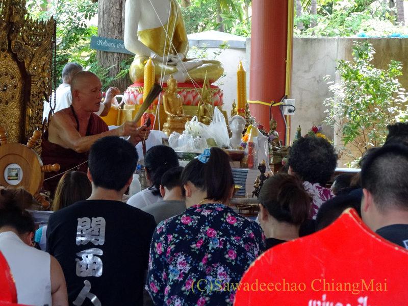 唯一存命のクルーバーがいるチェンマイの寺院ワットシードーンムーン