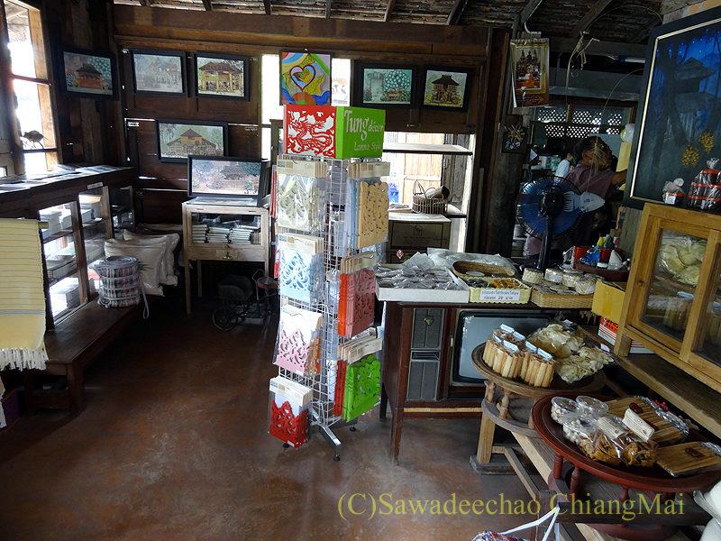 チェンマイにある北タイ料理レストラン、フアンチャイヨーンの売店