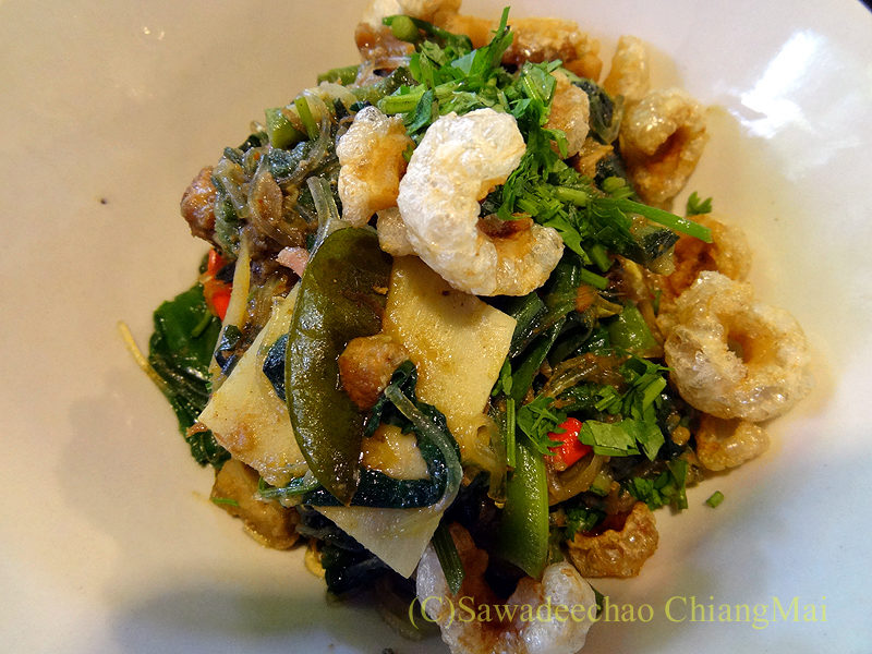 チェンマイにある北タイ料理レストラン、フアンチャイヨーンのゲーンホ