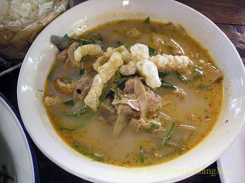 チェンマイにある北タイ料理レストラン、フアンチャイヨーンのゲーンプリー
