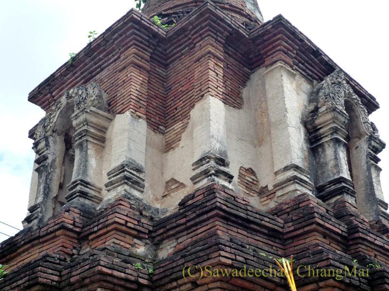 チェンマイ市内やや北部にある廃寺ワット・パーオーイ