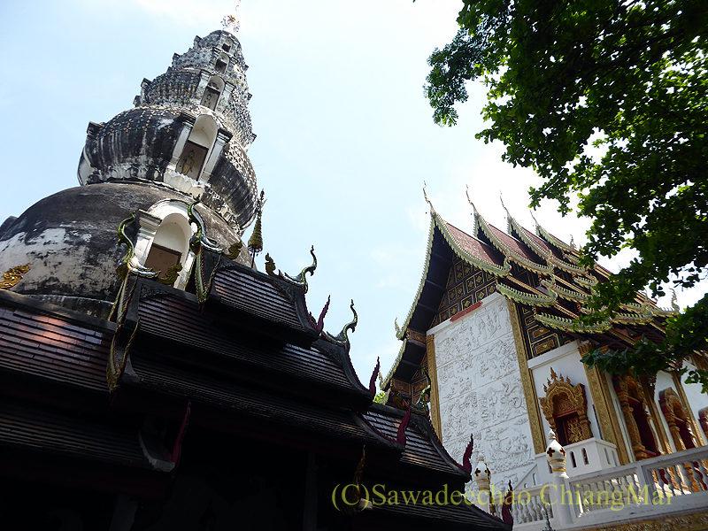 チェンマイにあるタイヤイ(シャン族)寺院のワットクータオ