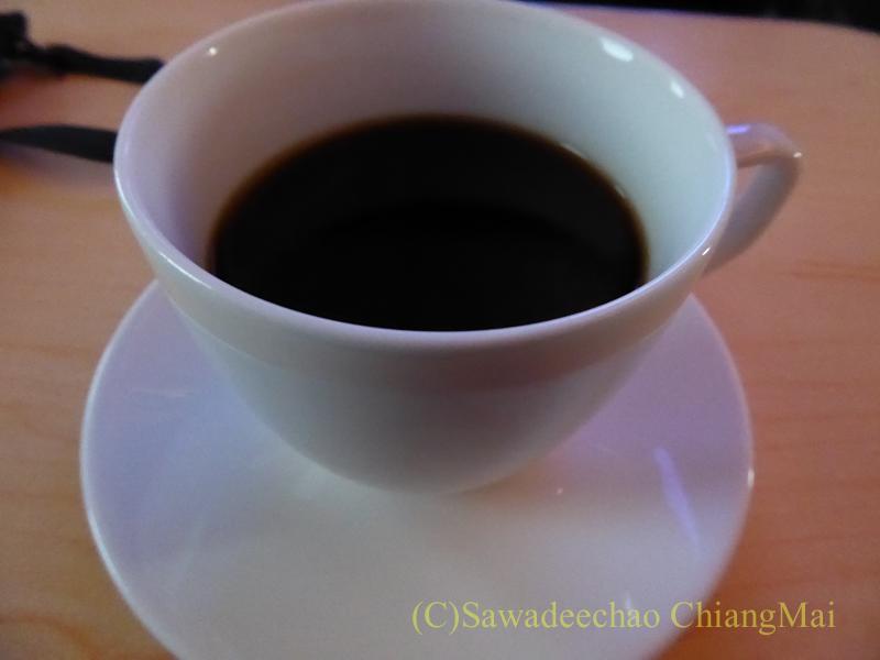 ANA全日空NH808便のビジネスクラスで出たコーヒー