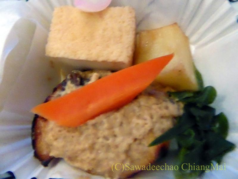 ANA全日空NH877便のビジネスクラスで出た機内食の主菜