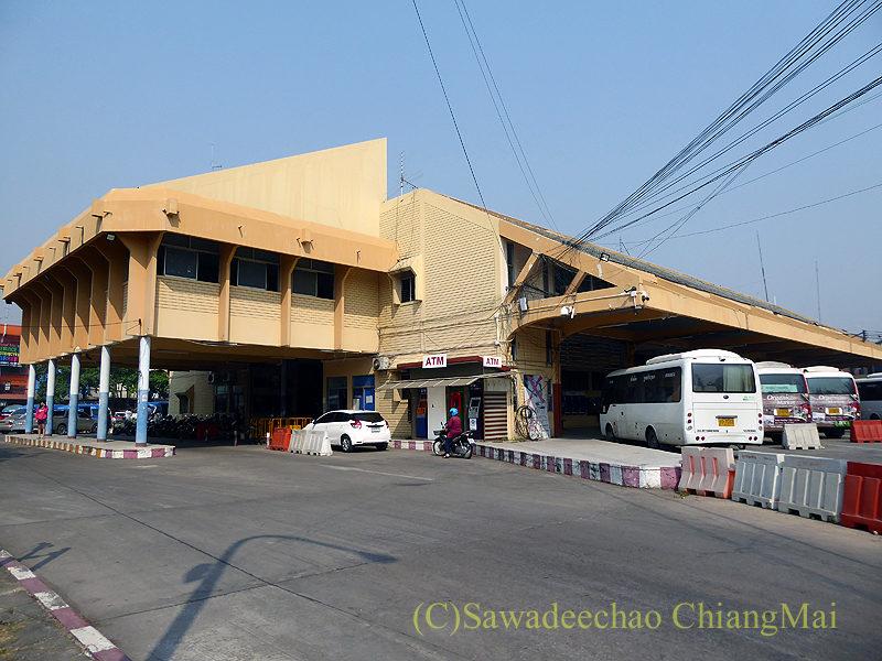 チェンマイにある旧アーケードバスターミナルの外観