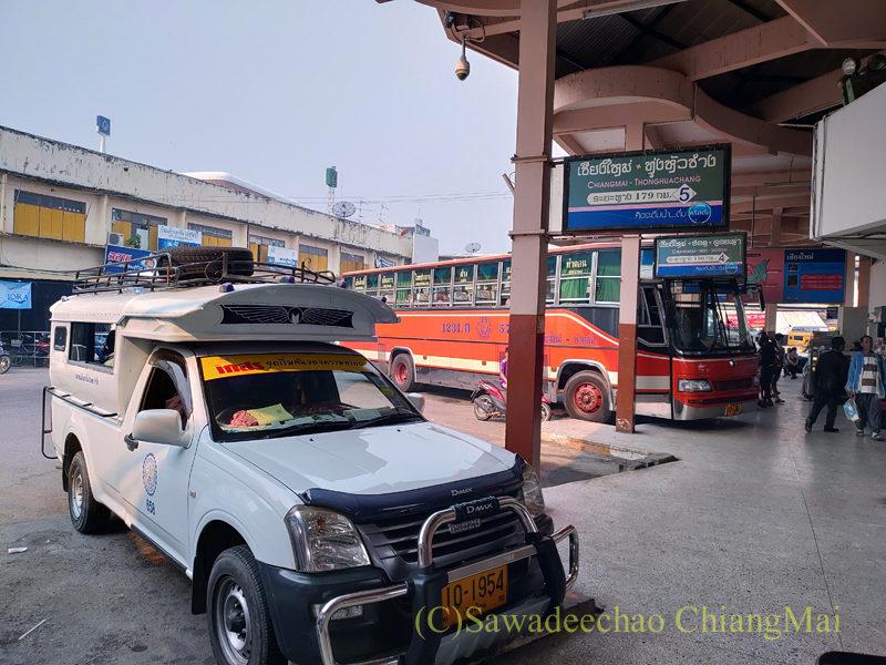 チェンマイにあるチャーンプアックバスターミナル