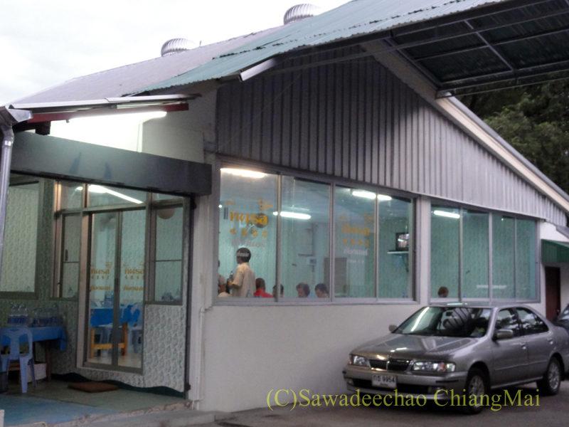 チェンマイの大衆中華レストラン、ティパロット(味露飯店)のVIPルーム
