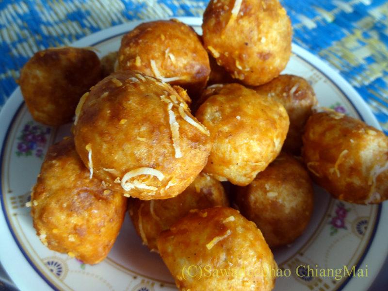 タイ最北端の街メーサーイの家で食べたタイヤイ(シャン族)料理のカーオマカーム