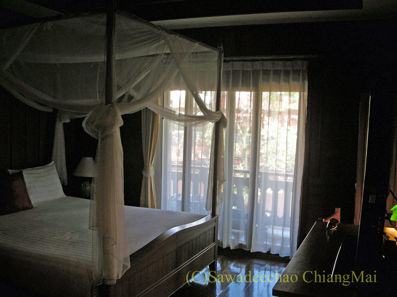 チェンマイにある中級ホテル、バーンユーサバーイブティックハウスの客室概観