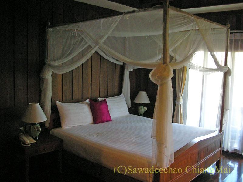 チェンマイにある中級ホテル、バーンユーサバーイブティックハウス