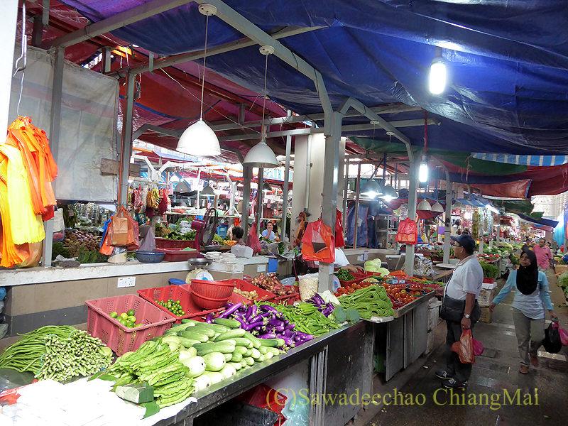 マレーシアのクアラルンプールにあるチョウキット市場