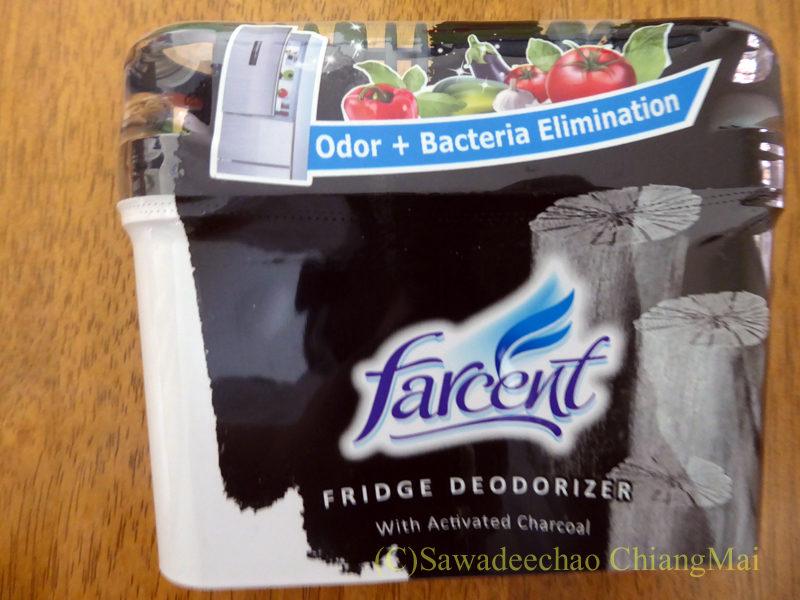 チェンマイで購入した冷蔵庫脱臭剤