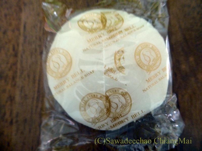 チェンマイで購入したマダムヘンの固形石鹸