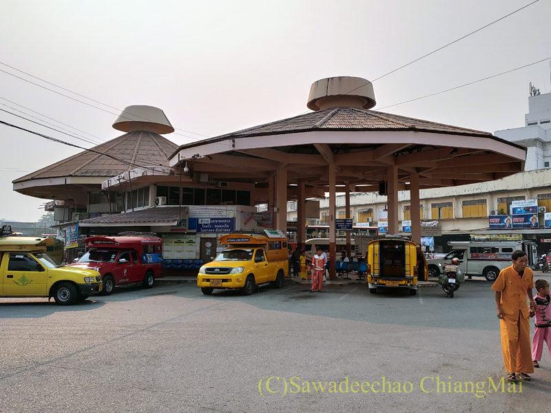 チェンマイにあるチャーンプアックバスターミナル概観
