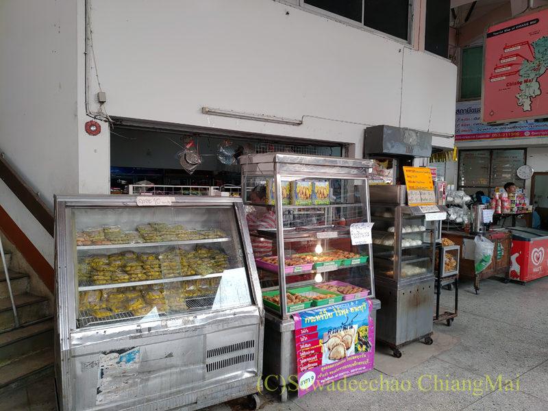 チェンマイにあるチャーンプアックバスターミナルの売店