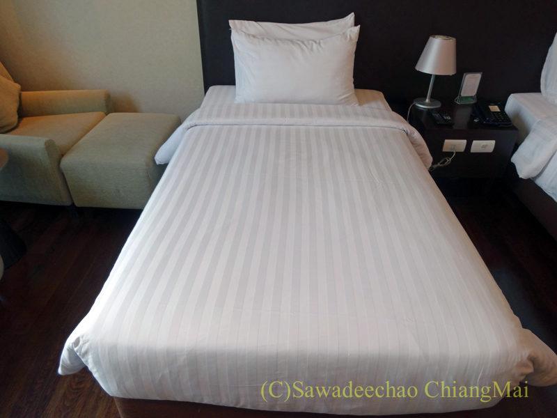 バンコクにあるジャスミンリゾートホテルのベッド