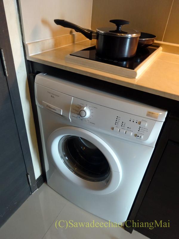 バンコクにあるジャスミンリゾートホテルの洗濯機