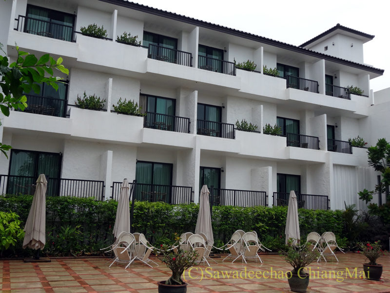 タイ北部の街ナーンにあるバーンナーンホテル