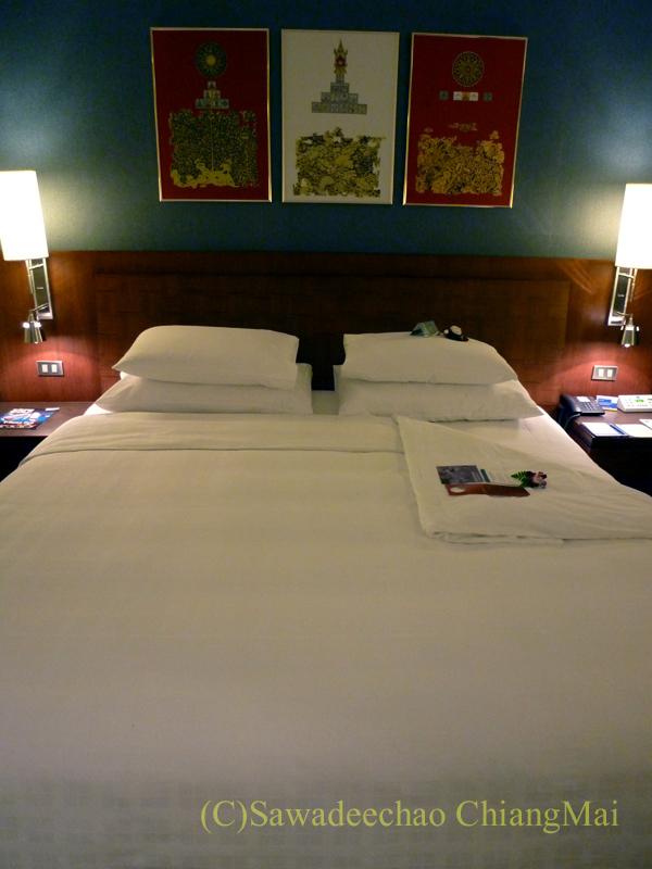 バンコクのノボテルバンコクスワンナプームエアポートホテルのベッド
