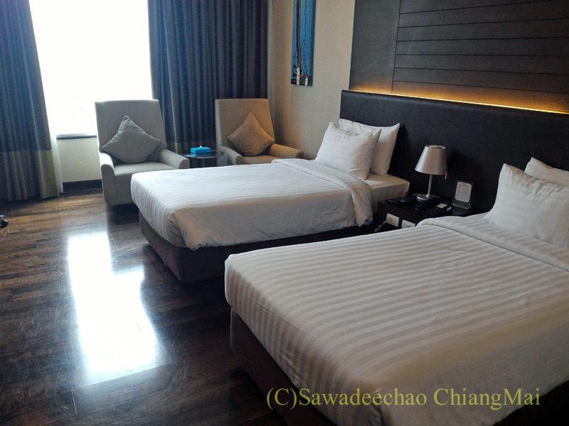 バンコクにあるジャスミンリゾートホテルの客室概観