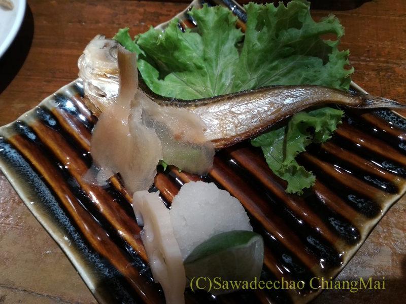 タイのバンコクにある海鮮居酒屋ハマ壱の刺身