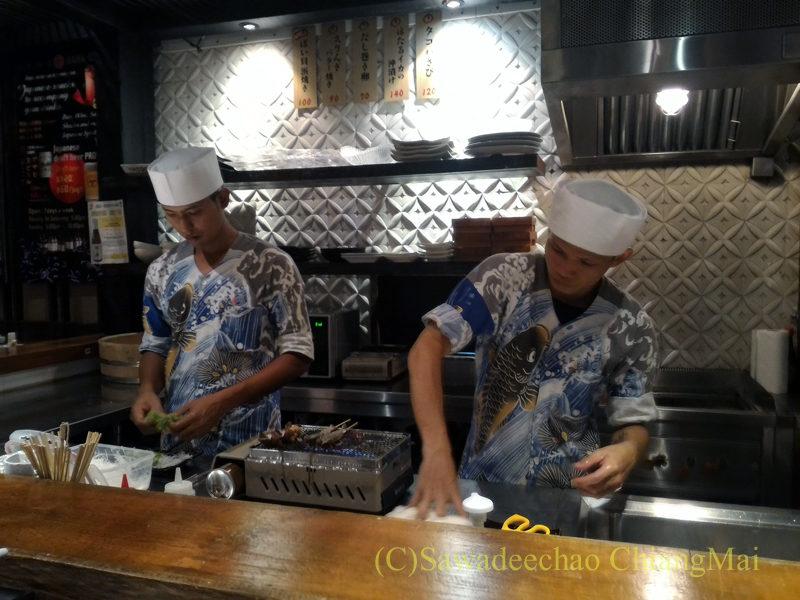 タイのバンコクにある海鮮居酒屋ハマ壱