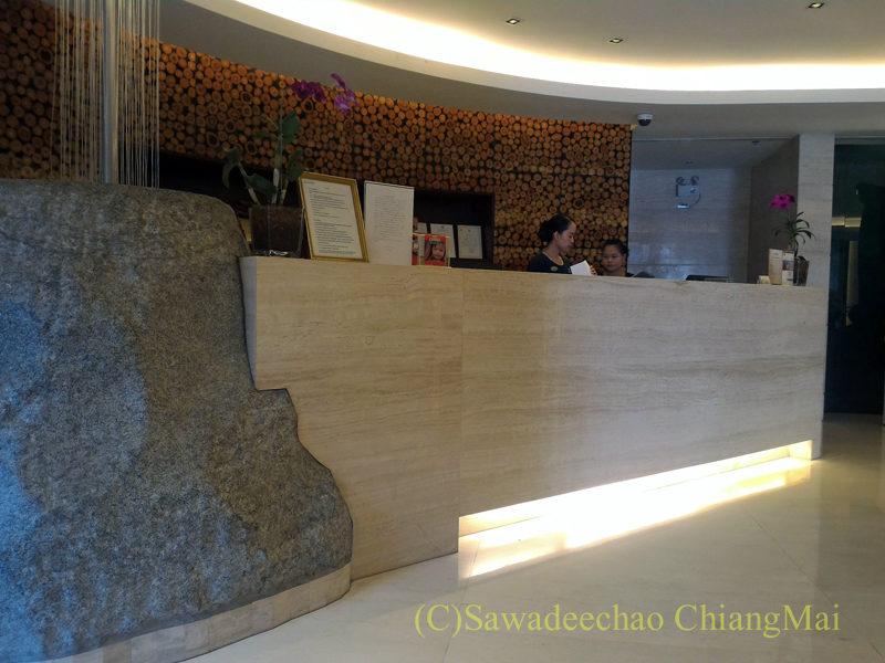 バンコクにあるジャスミンリゾートホテルのフロント