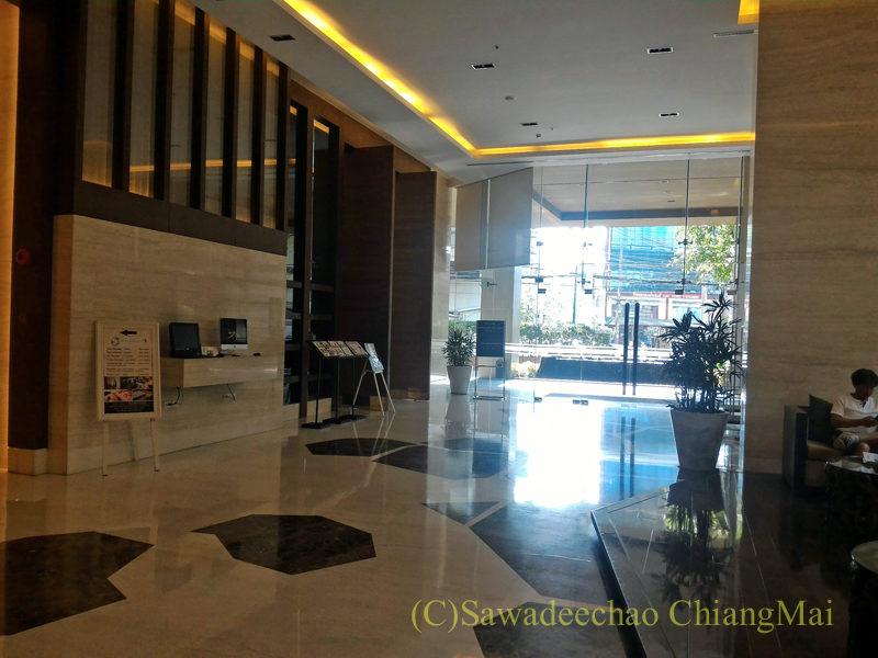バンコクにあるジャスミンリゾートホテルのロビー